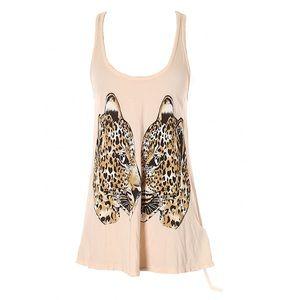 new Lauren Moshi ❤︎ Tiger Heart Swing Tank ❤︎ Pink